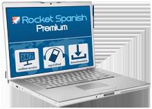 Rocket Spanish Premium   Online Download Version