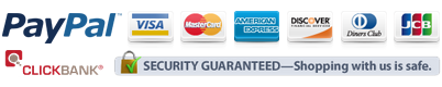 Security Guaranteed - Shopping with us is safe