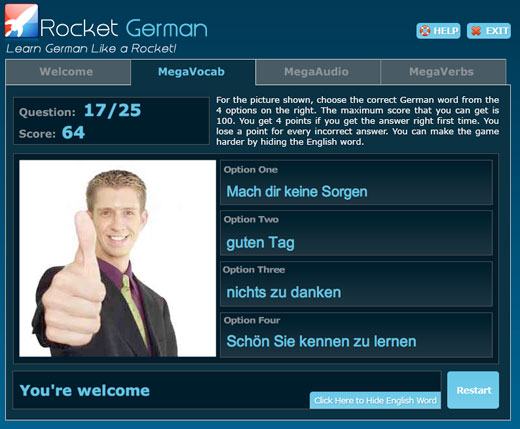 Rocket German Premium